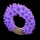Animal Crossing New Horizons Purple Hyacinth Wreath Image