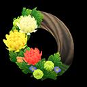 Animal Crossing New Horizons Mum Wreath Image