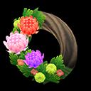 Animal Crossing New Horizons Fancy Mum Wreath Image
