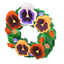 Animal Crossing New Horizons Pansy Wreath Image