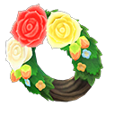 Animal Crossing New Horizons Rose Wreath Image