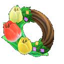 Animal Crossing New Horizons Tulip Wreath Image