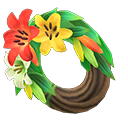 Animal Crossing New Horizons Lily Wreath Image