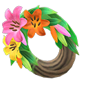 Animal Crossing New Horizons Fancy Lily Wreath Image