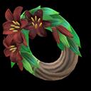 Animal Crossing New Horizons Dark Lily Wreath Image