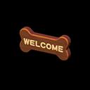 Animal Crossing New Horizons Bone Doorplate Image
