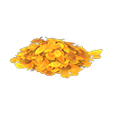 Animal Crossing New Horizons Yellow-leaf Pile Image