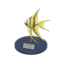 Animal Crossing New Horizons Angelfish Model Image