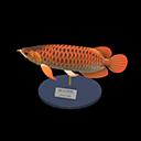 Animal Crossing New Horizons Arowana Model Image