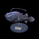 Animal Crossing New Horizons Football Fish Model Image