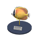 Animal Crossing New Horizons Butterfly Fish Model Image