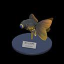 Animal Crossing New Horizons Pop-eyed Goldfish Model Image