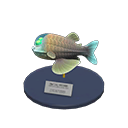 Animal Crossing New Horizons Barreleye Model Image