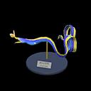 Animal Crossing New Horizons Ribbon Eel Model Image