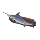 Animal Crossing New Horizons Mounted Blue Marlin Image