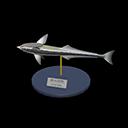 Animal Crossing New Horizons Suckerfish Model Image