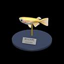 Animal Crossing New Horizons Killifish Model Image