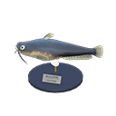 Animal Crossing New Horizons Catfish Model Image