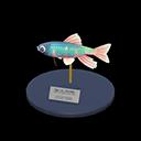 Animal Crossing New Horizons Pale Chub Model Image