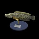 Animal Crossing New Horizons Giant Snakehead Model Image