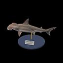 Animal Crossing New Horizons Hammerhead Shark Model Image