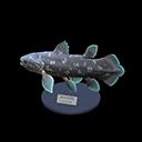 Animal Crossing New Horizons Coelacanth Model Image