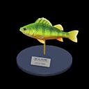 Animal Crossing New Horizons Yellow Perch Model Image