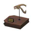 Animal Crossing New Horizons Parasaur Skull Image