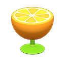 Animal Crossing New Horizons Orange End Table Image