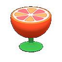 Main image of Orange end table