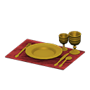 Animal Crossing New Horizons Golden Dishes
