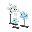 Animal Crossing New Horizons Illuminated Snowflakes