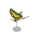 Animal Crossing New Horizons Tiger Butterfly Model Image