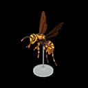 Animal Crossing New Horizons Wasp Model Image