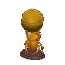 Animal Crossing New Horizons Golden Dung Beetle Image