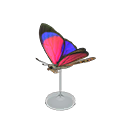Animal Crossing New Horizons Agrias Butterfly Model Image