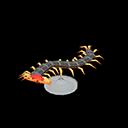 Animal Crossing New Horizons Centipede Model Image
