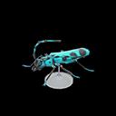 Animal Crossing New Horizons Rosalia Batesi Beetle Model Image