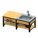 Animal Crossing New Horizons Ironwood Kitchenette