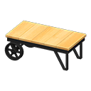 Animal Crossing New Horizons Ironwood Low Table