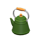 Animal Crossing New Horizons Green Simple Kettle