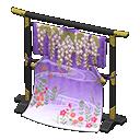 Animal Crossing New Horizons Wisteria Elaborate Kimono Stand