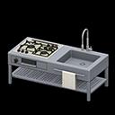Animal Crossing New Horizons Open-frame Kitchen