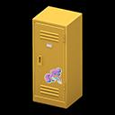 Animal Crossing New Horizons Yellow Upright Locker
