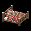 Animal Crossing New Horizons Log Bed