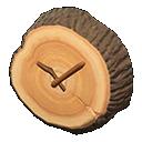 Main image of Log wall-mounted clock