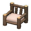 Image of Log chair