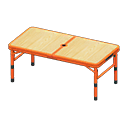 Animal Crossing New Horizons Red Outdoor Table