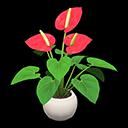 Animal Crossing New Horizons Anthurium Plant Image