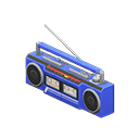 Animal Crossing New Horizons Blue Cassette Player